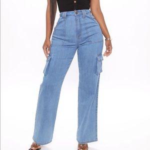 High rise straight leg jeans from fashion nova